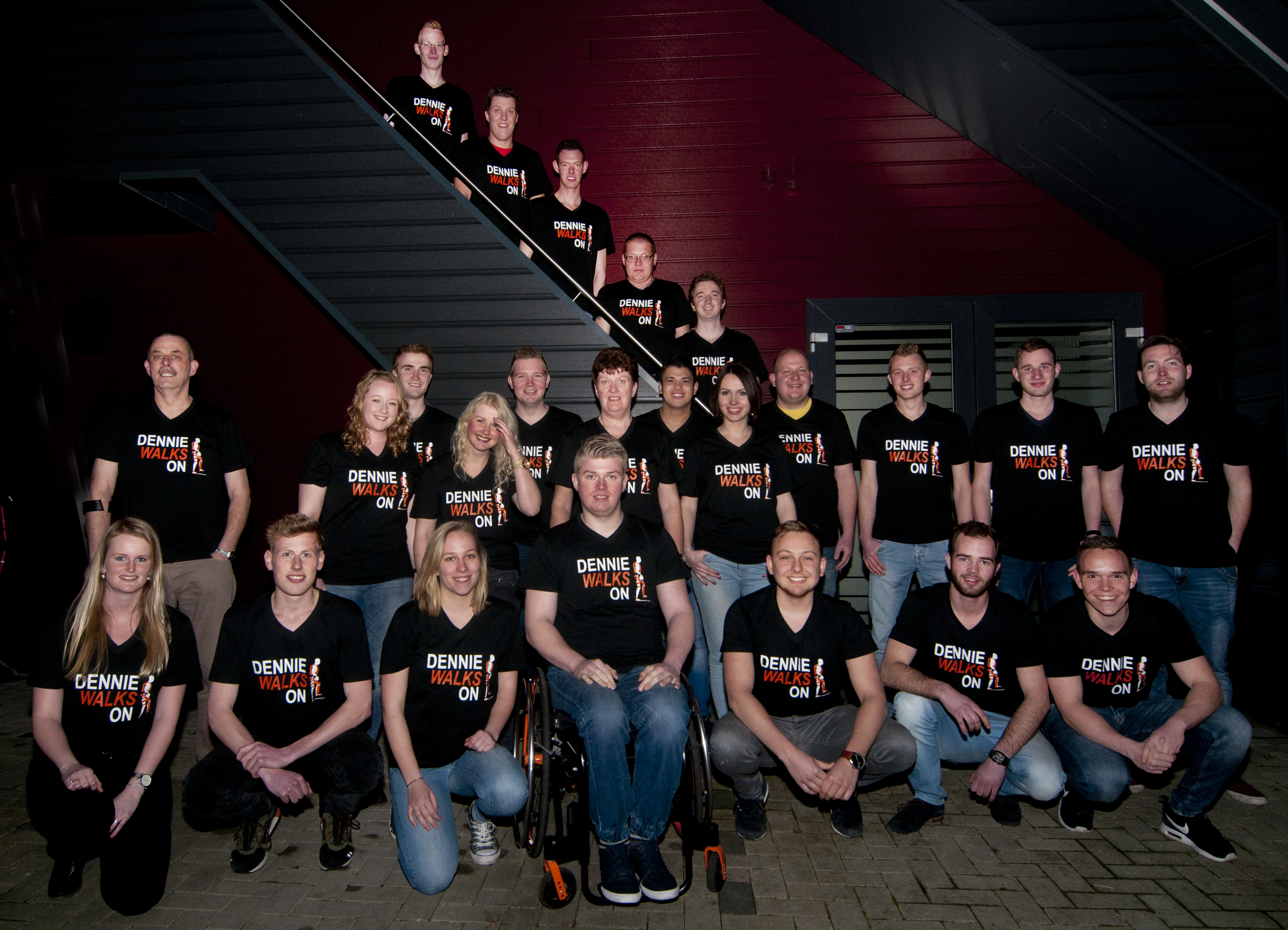 Groepsfoto Stichting Walk On